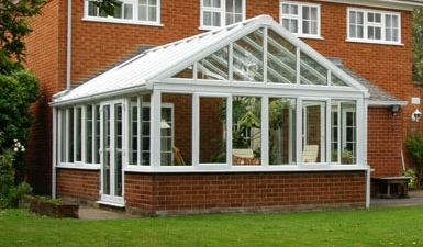 gable end Style conservatory